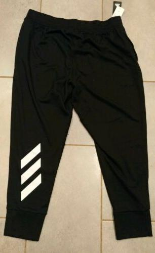 New Men's Adidas Performance Jogger Pants Tapered