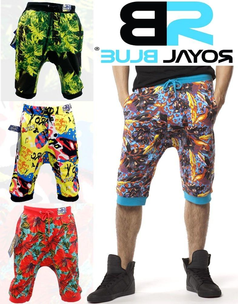 new men s authentic print jogger short