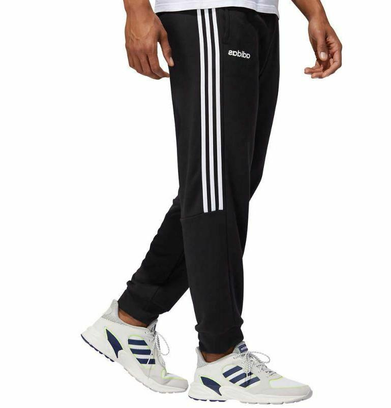 new mens 3 stripe french terry jogger