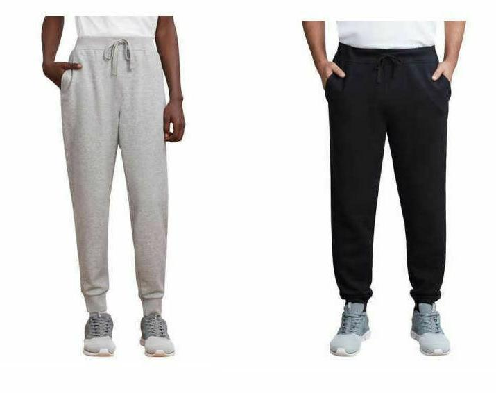 new mens french terry athletic jogger pants