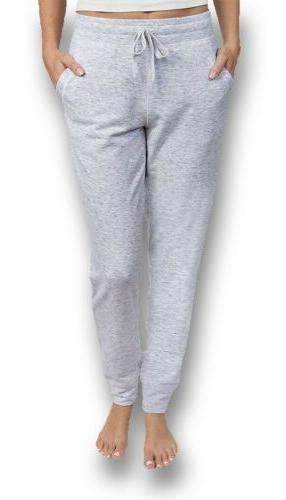 new women french terry joggers pant athletic