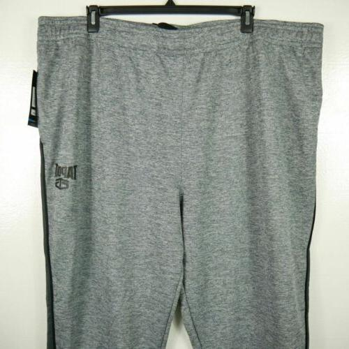 NWT BIG TALL ATHLETIC JOGGER SWEATPANTS HEATHER 4XL 5XL