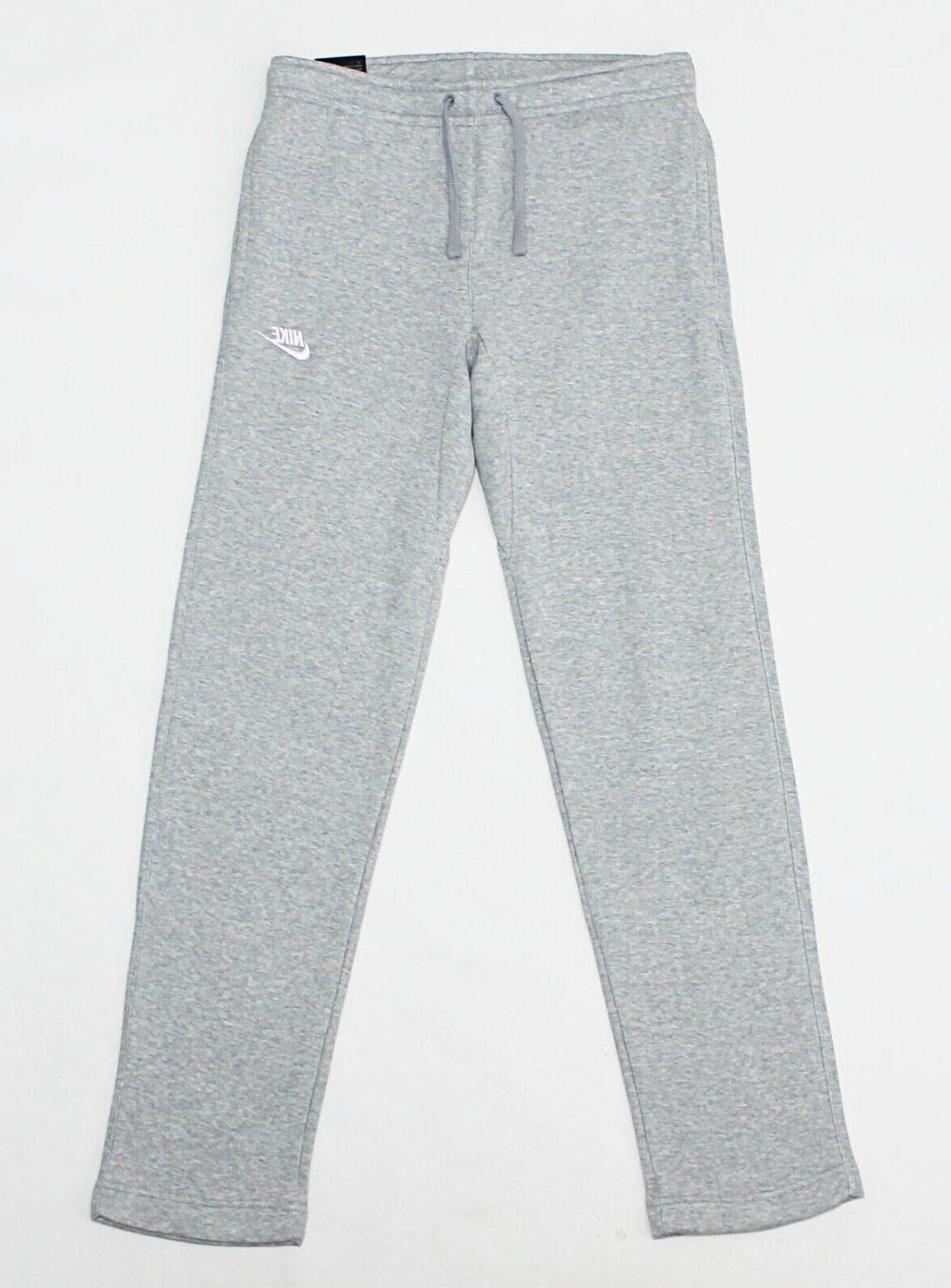 NWT NIKE Club Men's Heather Standard-Fit Pocket Sweatpants Pants