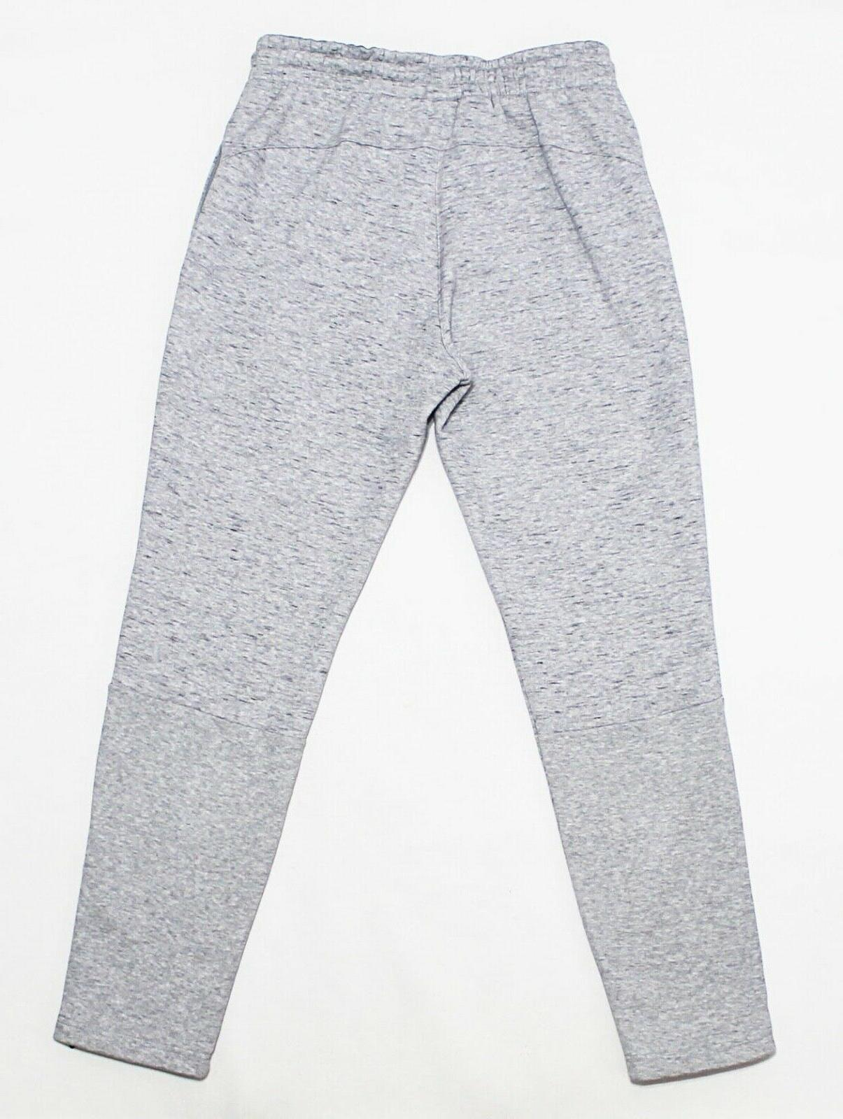 NWT ADIDAS Marled Heather Ankle-Zipper Sweatpants pants joggers