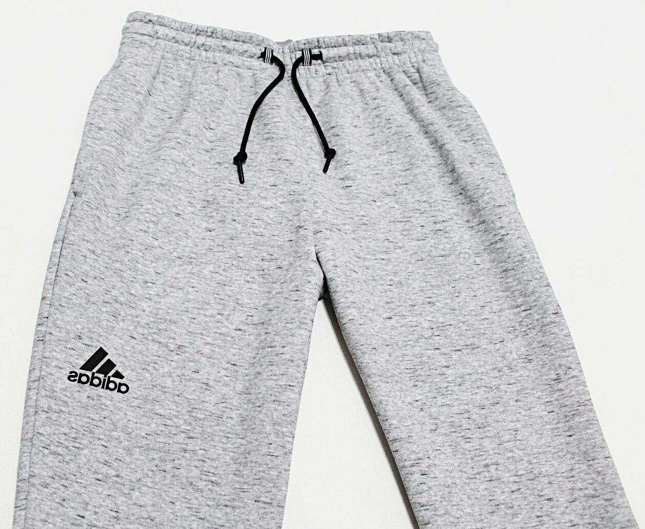 NWT ADIDAS Heather Ankle-Zipper Sweatpants pants