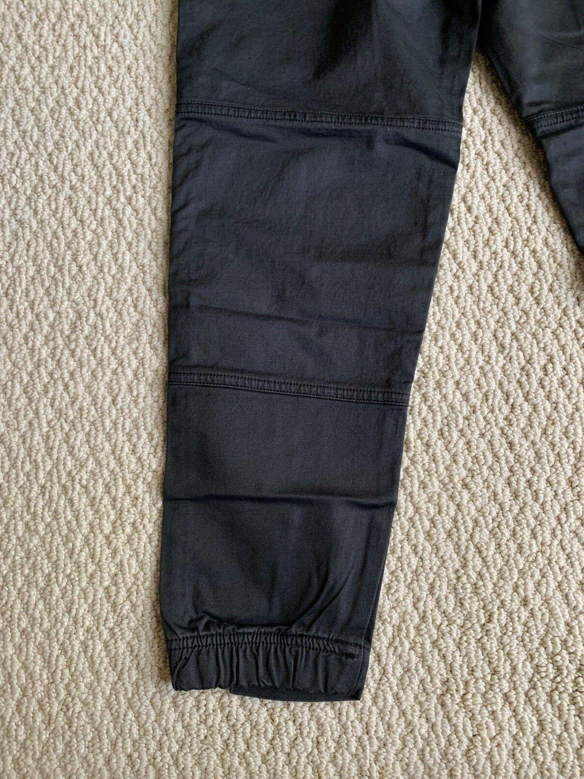 NWT Men's Charcoal Utility Cargo Tapered Jogger SIZES