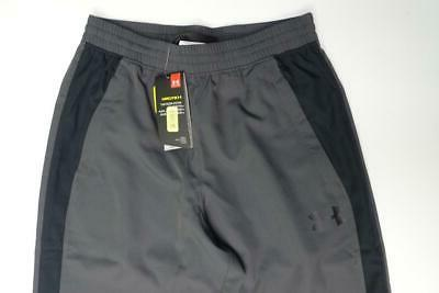 NWT Men Under Storm HeatGear Tapered Track Pants Size S