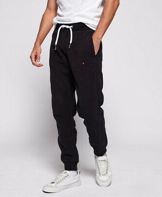 orange label slim joggers