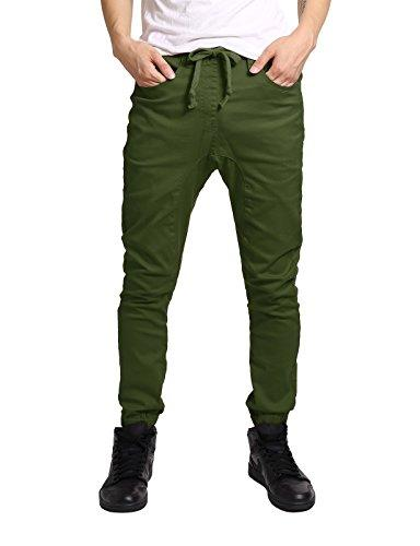 JD Apparel Fit Drawstring Harem Pants S