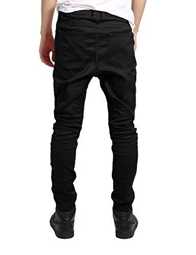 JD Men's Fit Pants M Black