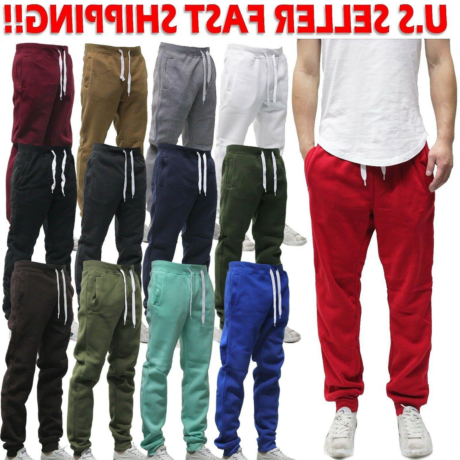 sp jogger pants active solid fleece sweat
