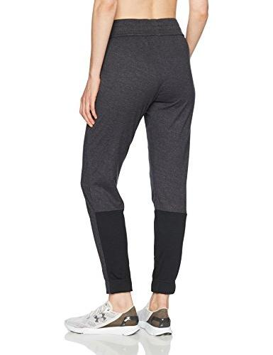 Under Armour Women's Sportstyle Jogger, Black /White, Small