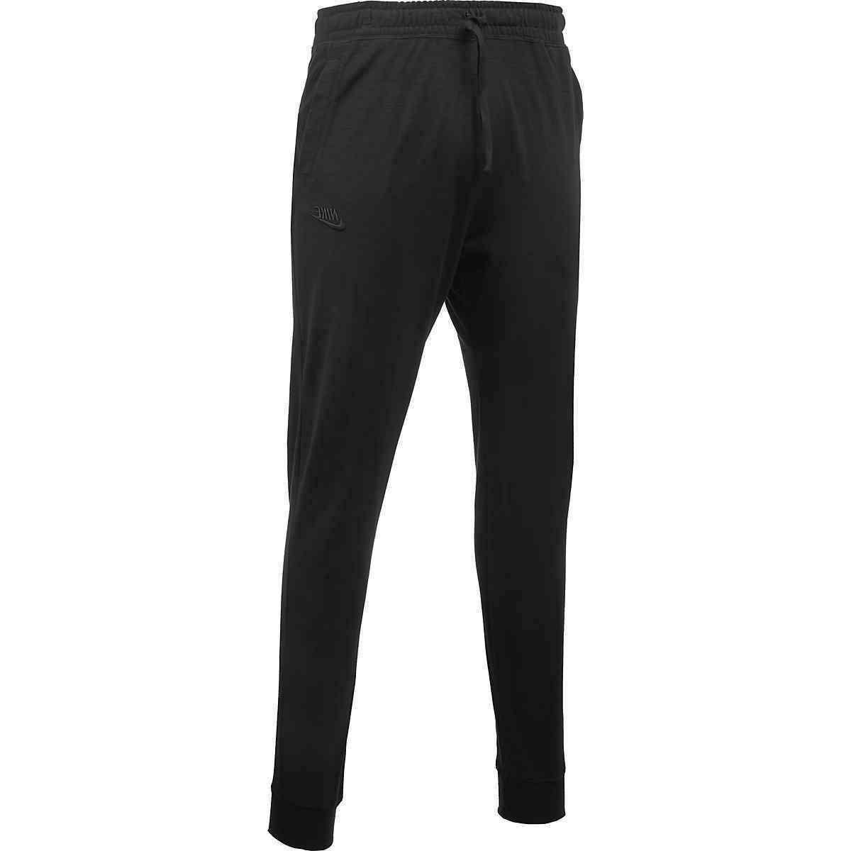 sportswear standard fit joggers pants tapered cuffed