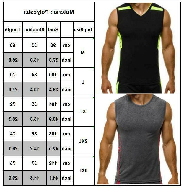 Gym T-shirts Vest Casual Tee