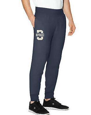 sweatpants jogger men s fleece heritage letterman