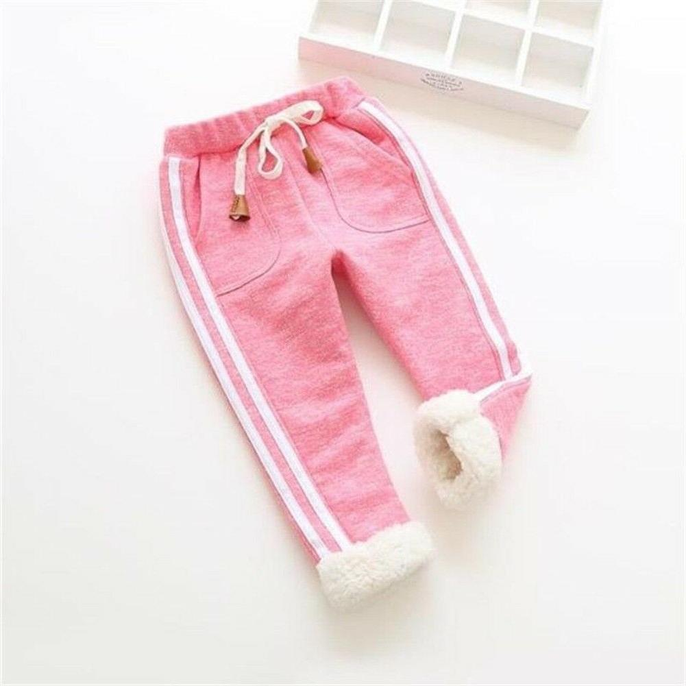 toddler baby trousers warm joggers sports pants