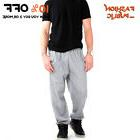HI CASUAL UNISEX MEN WOMEN SWEATPANTS POCKET PLAIN FLEECE PA