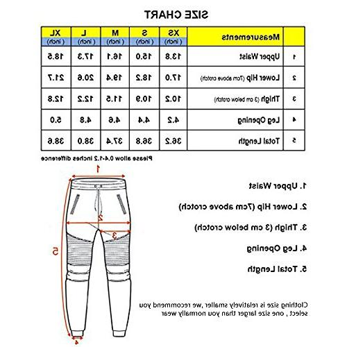 FORBIDEFENSE Biker Jogger Pants With Terry and For
