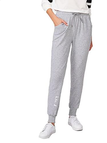women s casual solid sweatpants yoga workout