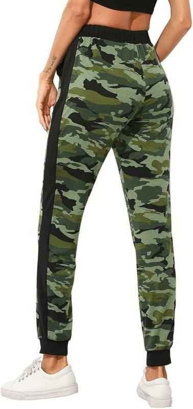 Sweatyrocks Women'S Drawstring Joggers Pants With