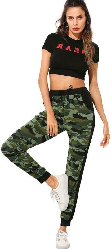 Sweatyrocks Women'S Drawstring Joggers