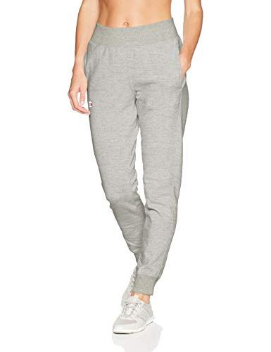 women s reverse weave jogger oxford grey