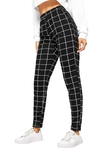 Women's Waist Plaid
