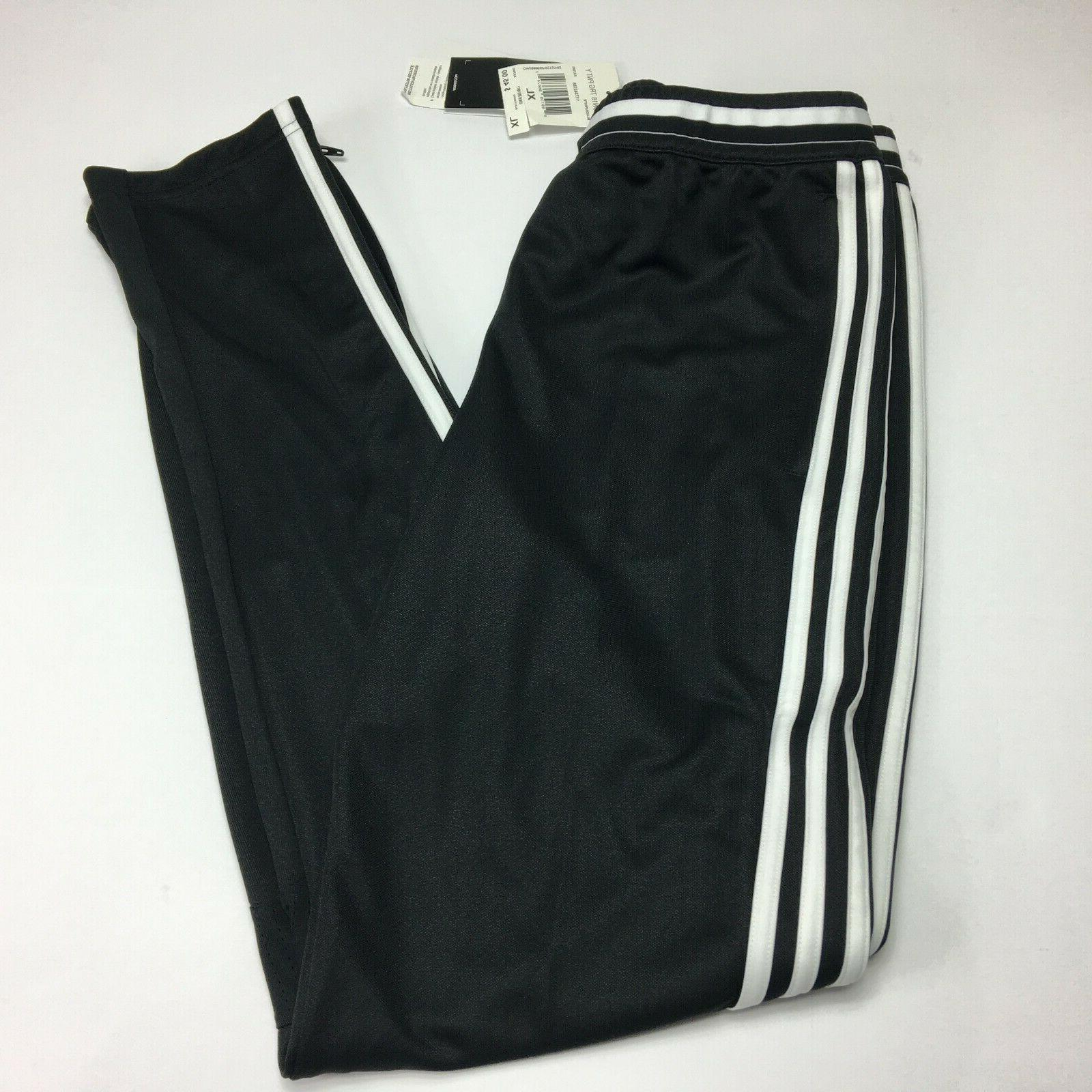 adidas Youth Soccer Condivo 16 Pants, Black/White, X-Large