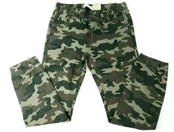 Levi's Pants Boys Size 12 Green Camo Jogger Pants New