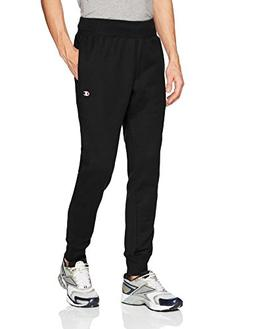Champion Life3; Men's Reverse Weave Trim Jogger Pants Black