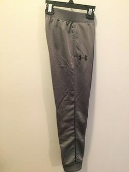 Little Boy's Under Armour Pennant Jogger Gray Size 6