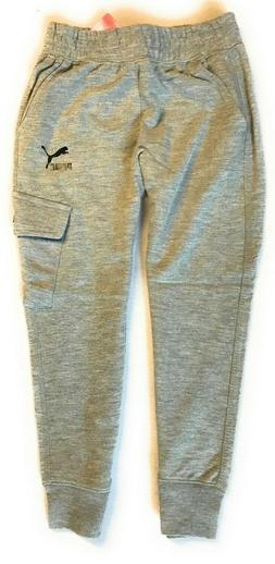 PUMA Little Boys French Terry Cargo Jogger Pants
