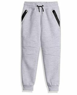 Southpole Little Boys' Kids Tech Fleece Jogger Pants, Heathe