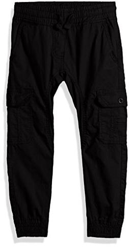 Southpole Boys' Little Washed Stretch Ripstop Cargo Jogger P