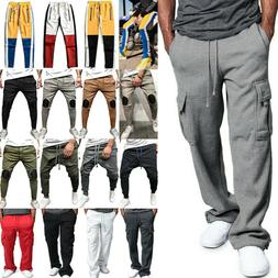 Men Casual Fitness Sports Joggings Pants Cargo Combat Sweatp