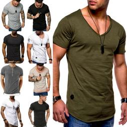 Men Fitness Athletic Camo Muscle Tops Training Slim Fitness