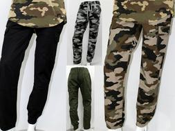 AKADEMIKS MEN JOGGERS PANTS WITH CARGO POCKETS SLIM FIT SIZE