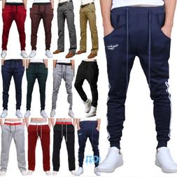 Men Jogger Sports Gym Pants Casual Harem Sweat Trousers Loos