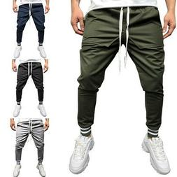 Men Outfit Pants Sport Fitness Joggers Trousers Streetwear P