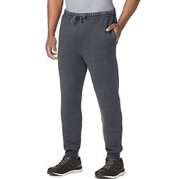 Hanes Men's 1901 Jogger Pant, Dark Screen, Large