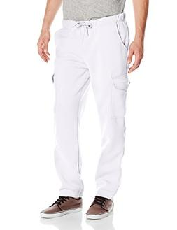Southpole Men's Active Basic Jogger Fleece Cargo Pants in Pr