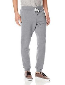 Southpole Men's Active Basic Jogger Fleece Pants, Heather Gr