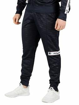 Champion Men's All Over Logo Joggers, Blue