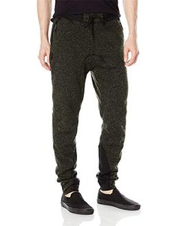 Cloudless Men's Basic Fleece Marled Jogger Pant -X-Large)