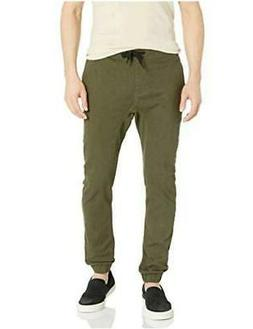 Southpole Men's Basic Stretch Twill Jogger Pants - Reg and,