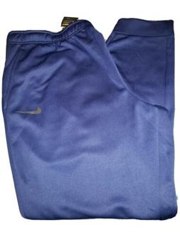 NIKE Men's Big & Tall Dri-Fit Therma Jogger Sweatpants Blue
