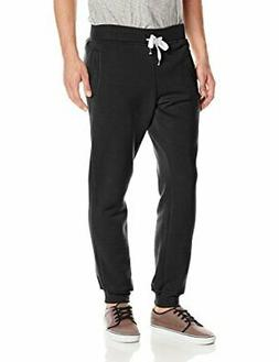Southpole Men's big-tall Active Basic Jogger Fleece Pants, B