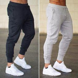 Men'S Blank Breathable Compression Gym Sport Joggers Bodybui