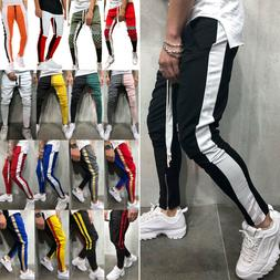 Men's Boy Track Pants Casual Sports Jogging Bottoms Joggers