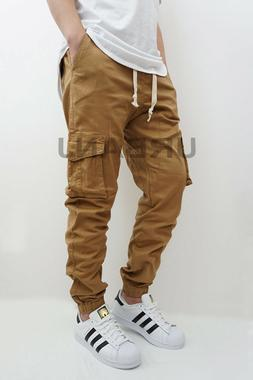 MEN'S CARGO TWILL JOGGER PANTS  3 COLORS VICTORIOUS BIKER